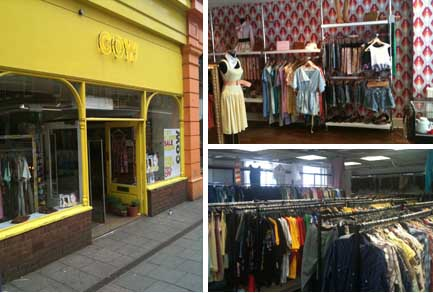 Vintage shops in Sheffield